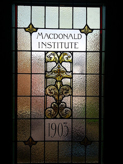 Macdonald Institute Stained Glass